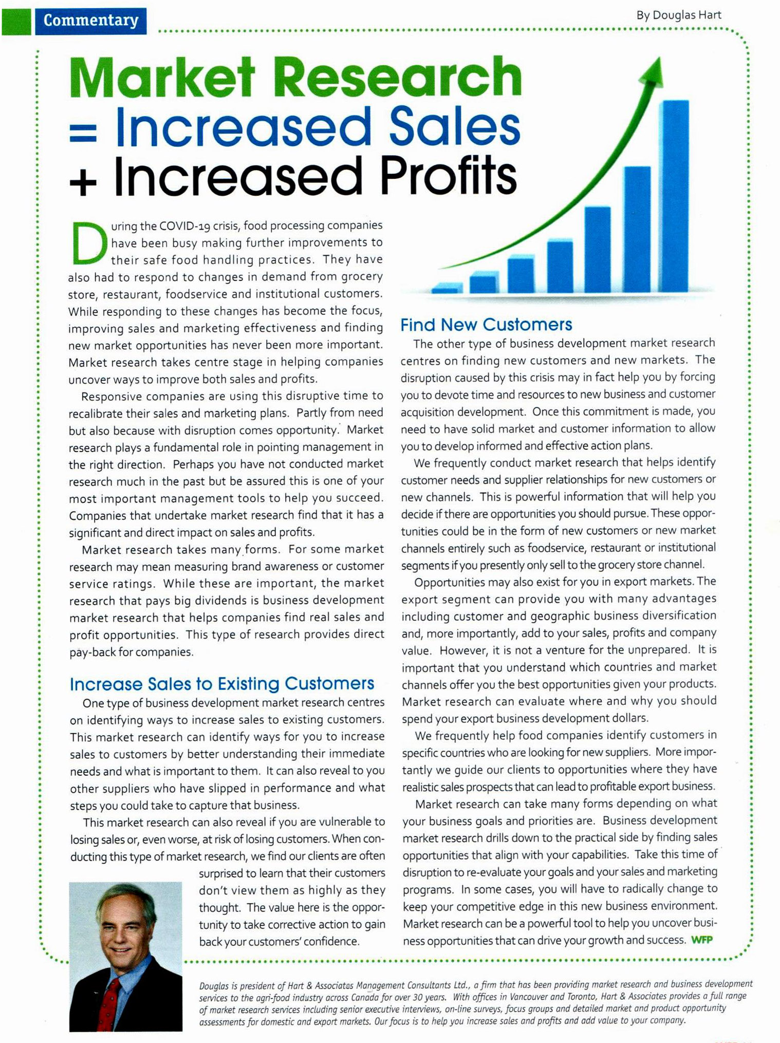 Market Research Equals Increased Profits